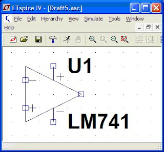 James Eastham: Adding a LM741 Op Amp Model to LTSpice