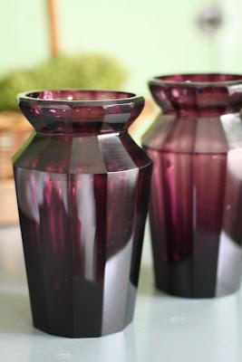 Reggie Darling Amethyst Glass