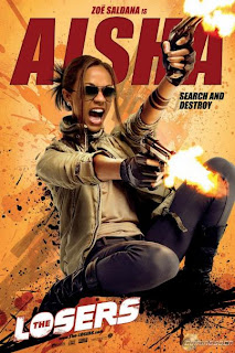 Zoe Saldana is Aisha - The Losers