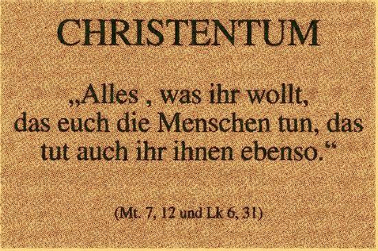 Matthäus 7 12 Goldene Regel