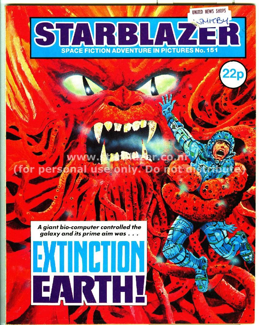 Starblazer issue 151 - Page 1