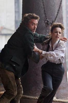 Sherlock Holmes und Irene Adler