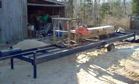 Cedar Ridge Farm: My Sawmill