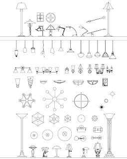 light fixture symbol, design: lighting symbols