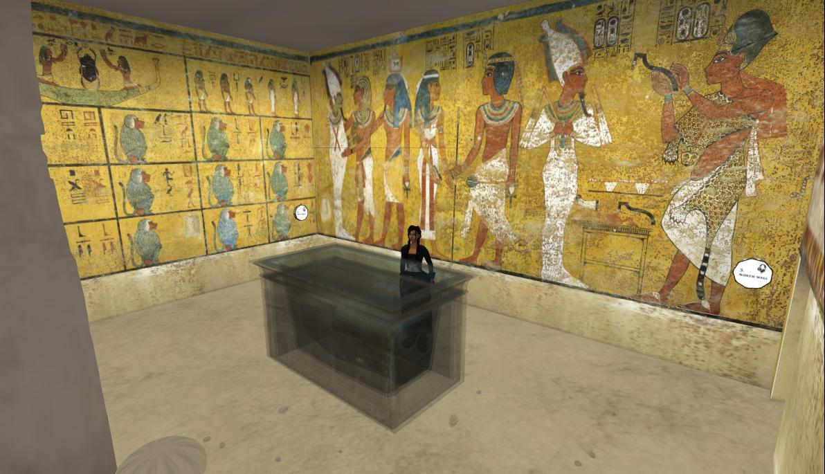 King Tuts Tomb Artifacts Inside king tut s tomb King Tuts Tomb Inside