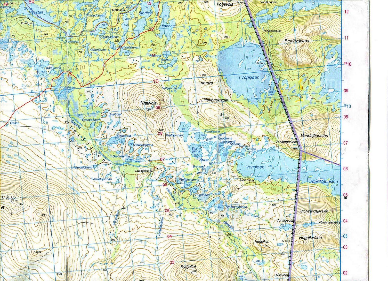 åstaelva kart VONSJØEN | DER VILLMARKA SUSER åstaelva kart