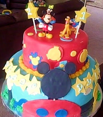 Birthday Cake Childrens With Candels