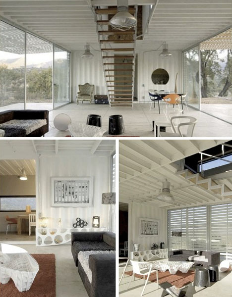 interior design musings: Shipping Container Homes