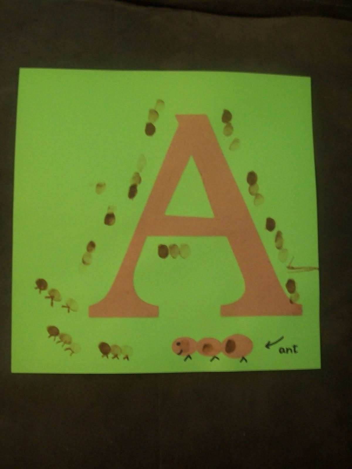 Teaching Toddlers Together The Letter A