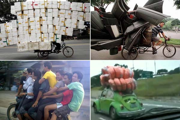 Métodos de Transporte de Cargas Mais Inusitados do Mundo