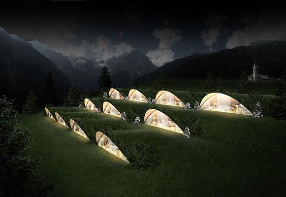 Klima Hotel | O Hotel Sustentável Que Se Integra à Montanha na Itália