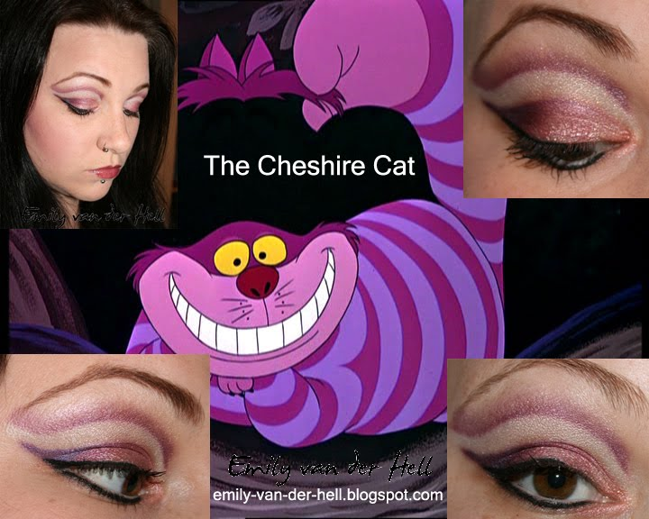 emily van der hell project make up cheshire cat grinsekatze. Black Bedroom Furniture Sets. Home Design Ideas