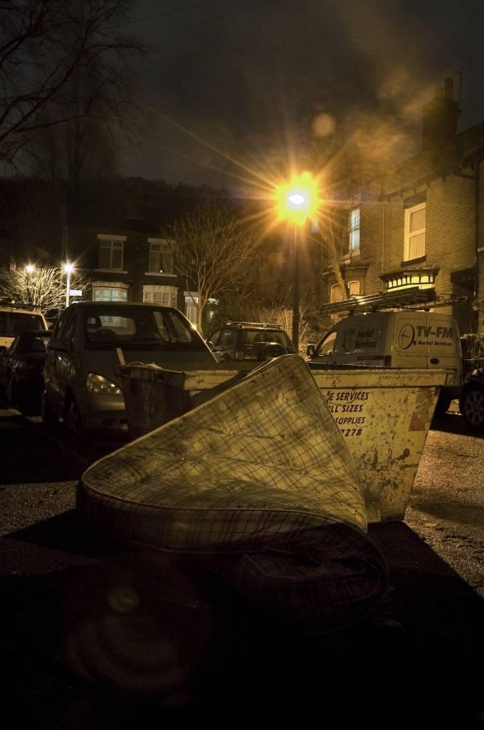 Six By Six Mouldy Mattress Or Abandoned Drug Den