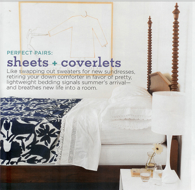 the estate of things chooses domino mexican coverlet