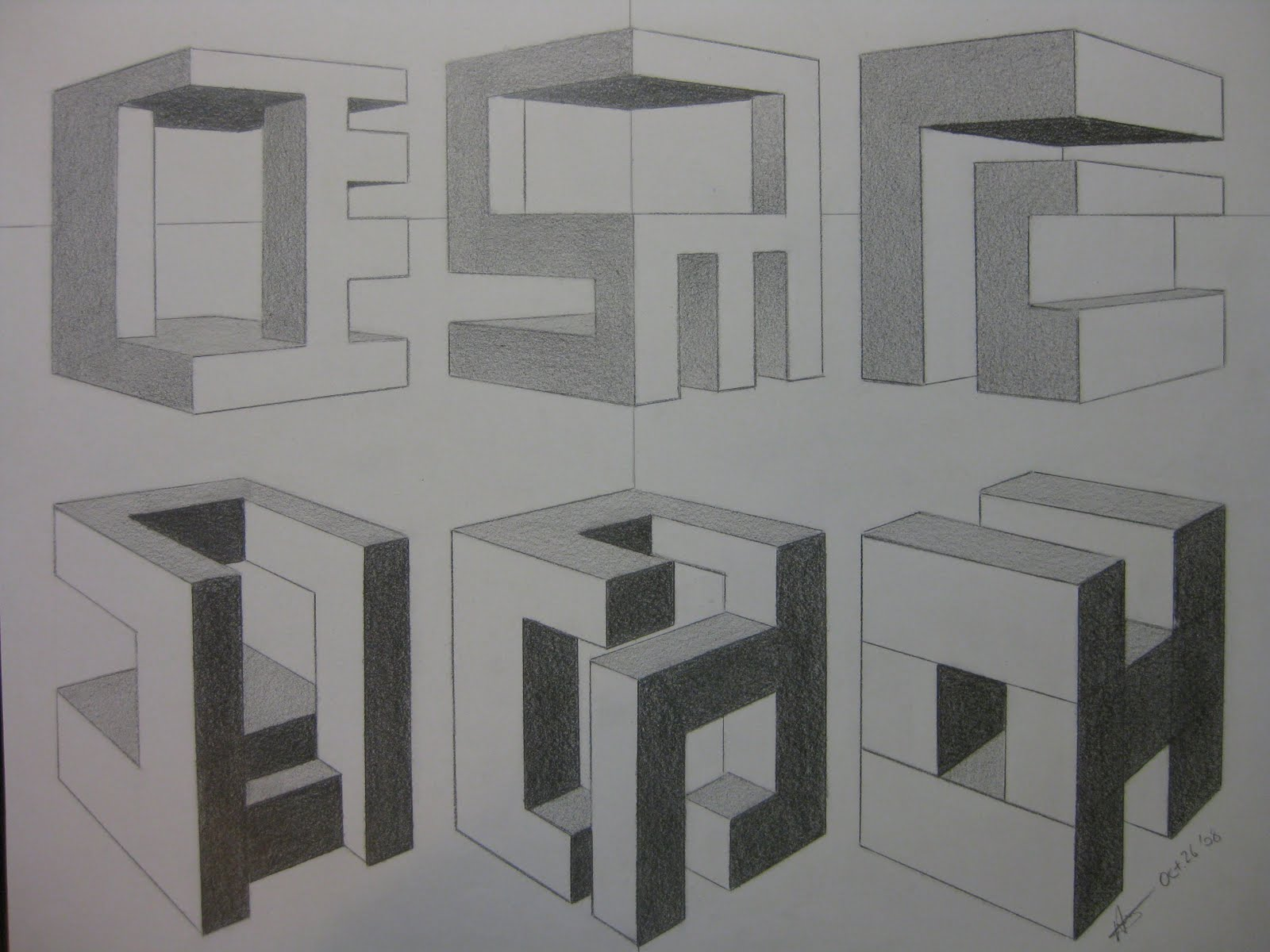 Ay Art Two Point Perspective Continued