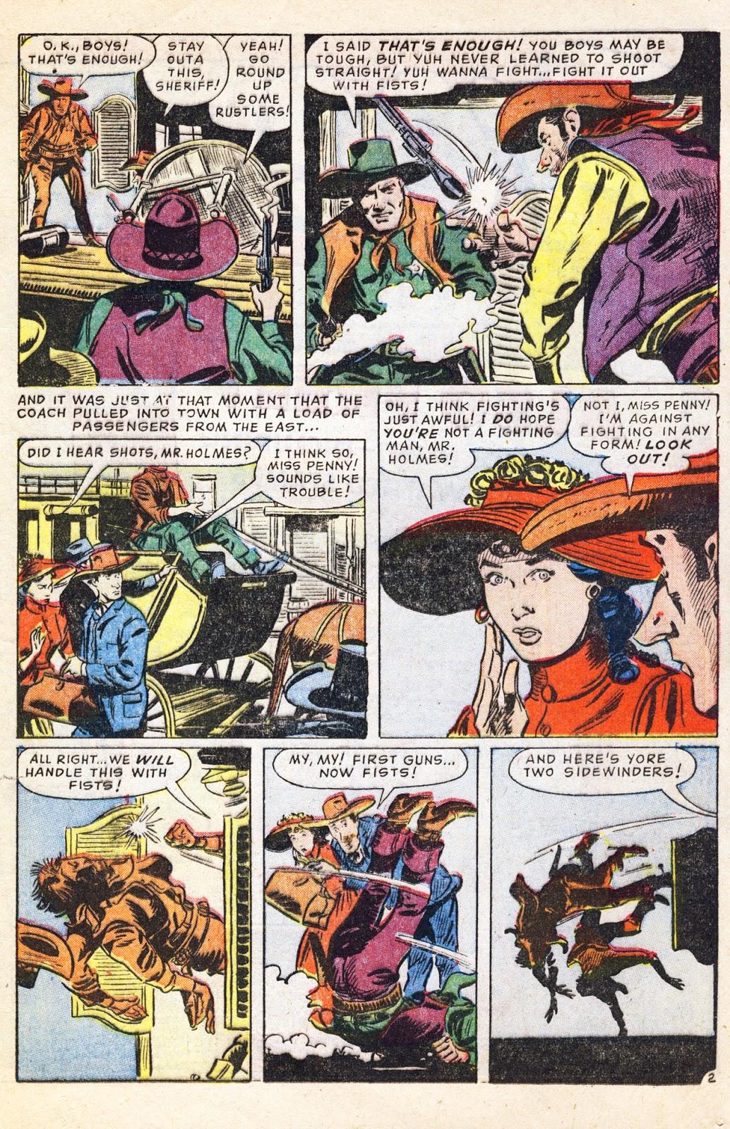 Gunsmoke Western issue 38 - Page 17