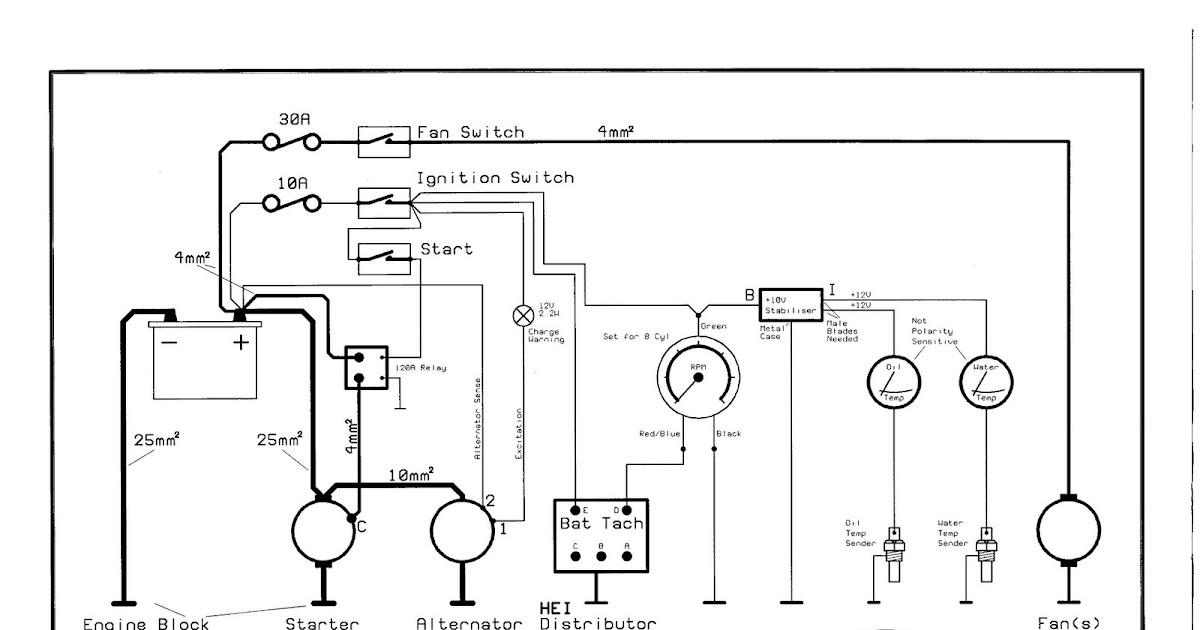 Building a Cobra. GD 427 Mk4 (Euro): Engine start wiring.