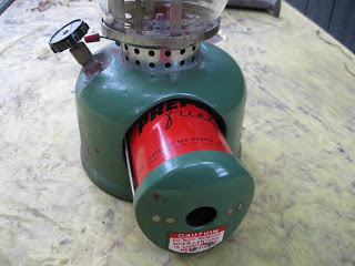 Vintage Coleman Lanterns: Coleman propane lantern 1971 Model 5122