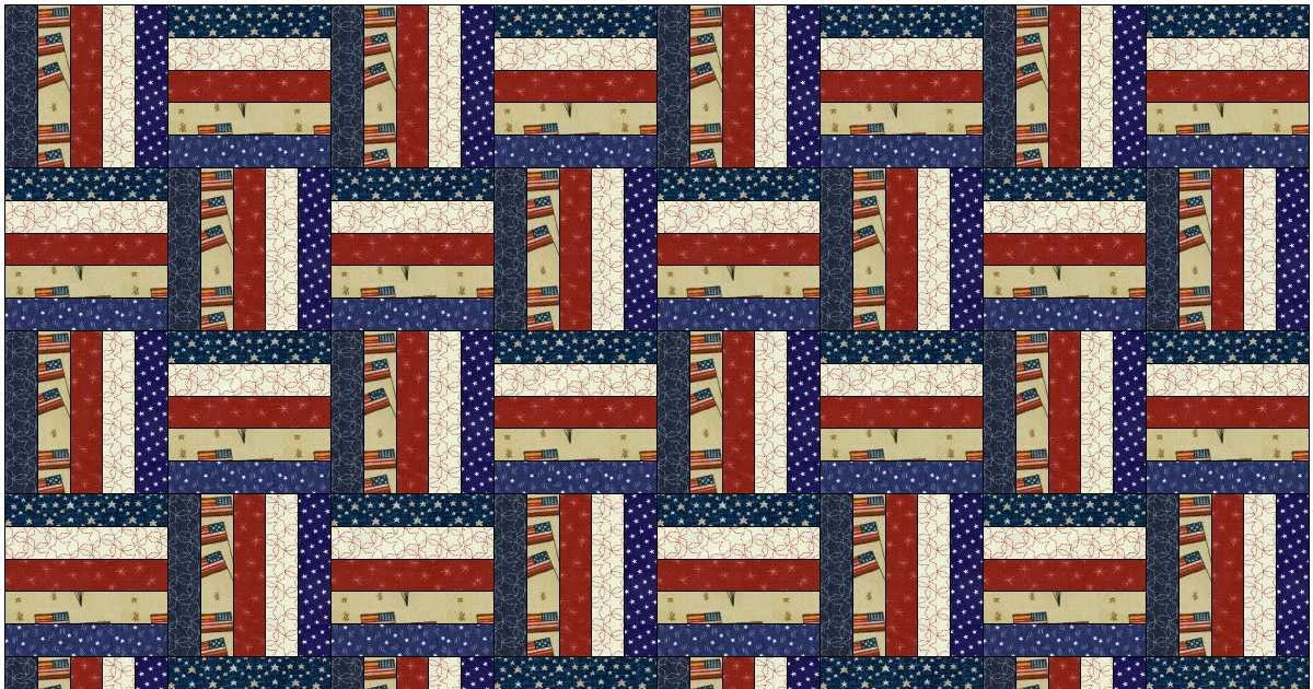 Alycia Quilts Scrappy Rail Fence Pattern For Jan 30th Sew Day