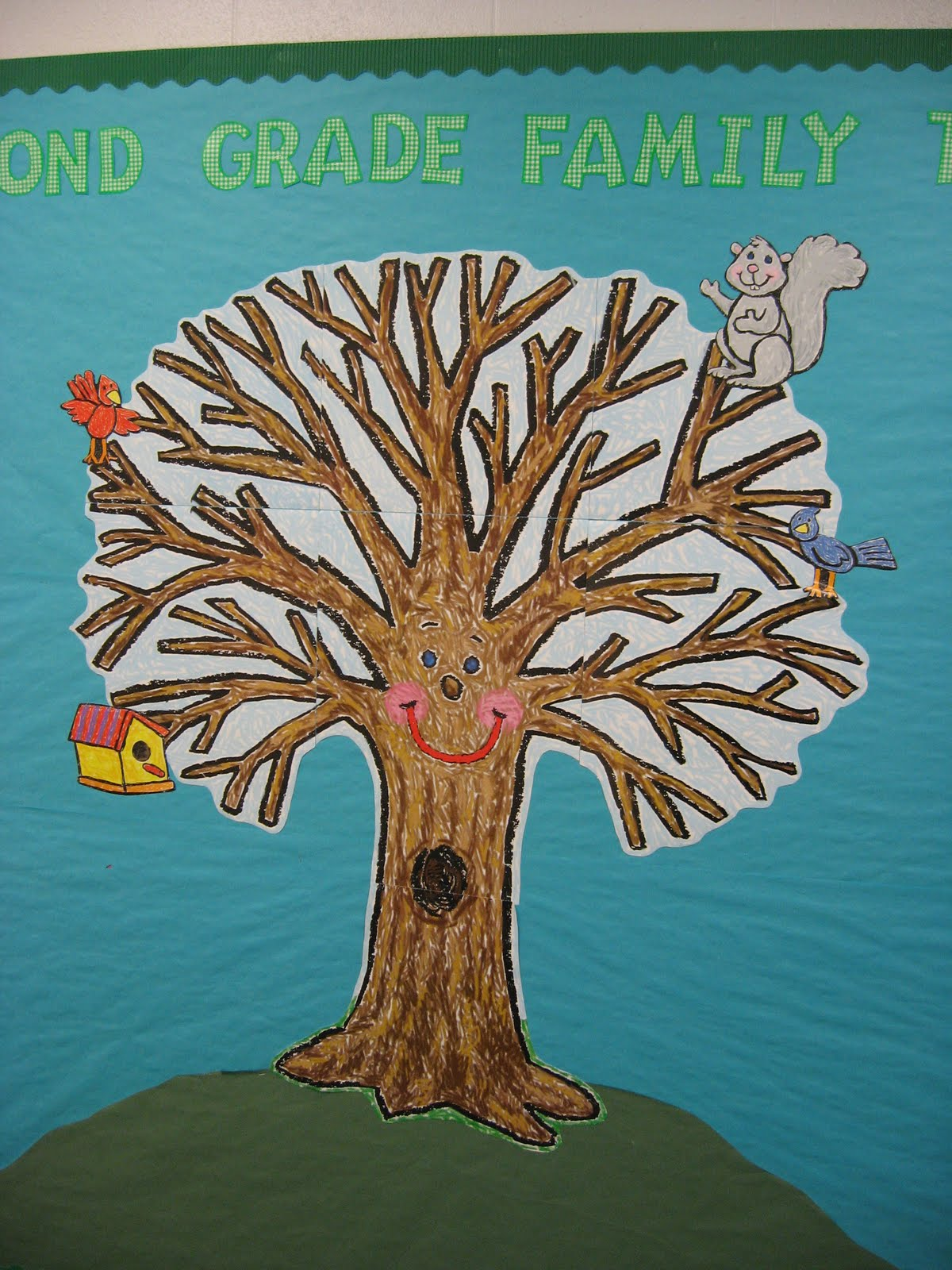 News And Notes Second Grade Family Tree