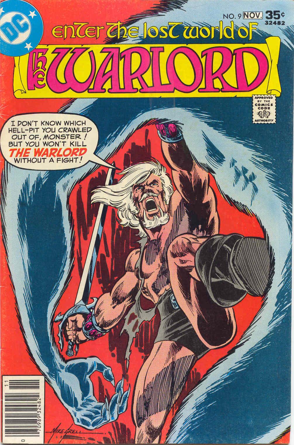 Warlord (1976) 9 Page 1