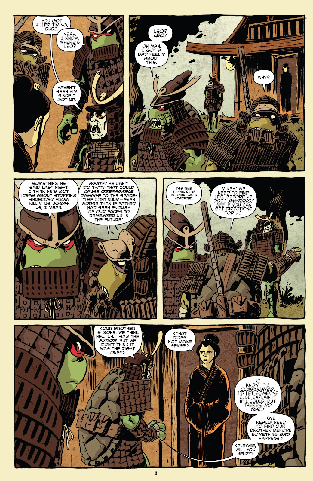 Read online Teenage Mutant Ninja Turtles: The IDW Collection comic -  Issue # TPB 5 (Part 1) - 41