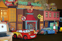 Dekorasi backdrop kids birthday party organizer (EO ultah anak)