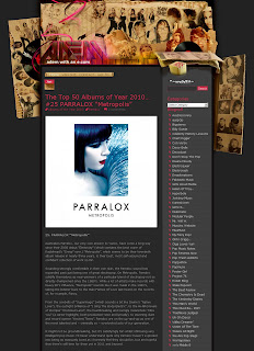 Metropolis is Album #25 in the Top 50 albums of 2010!