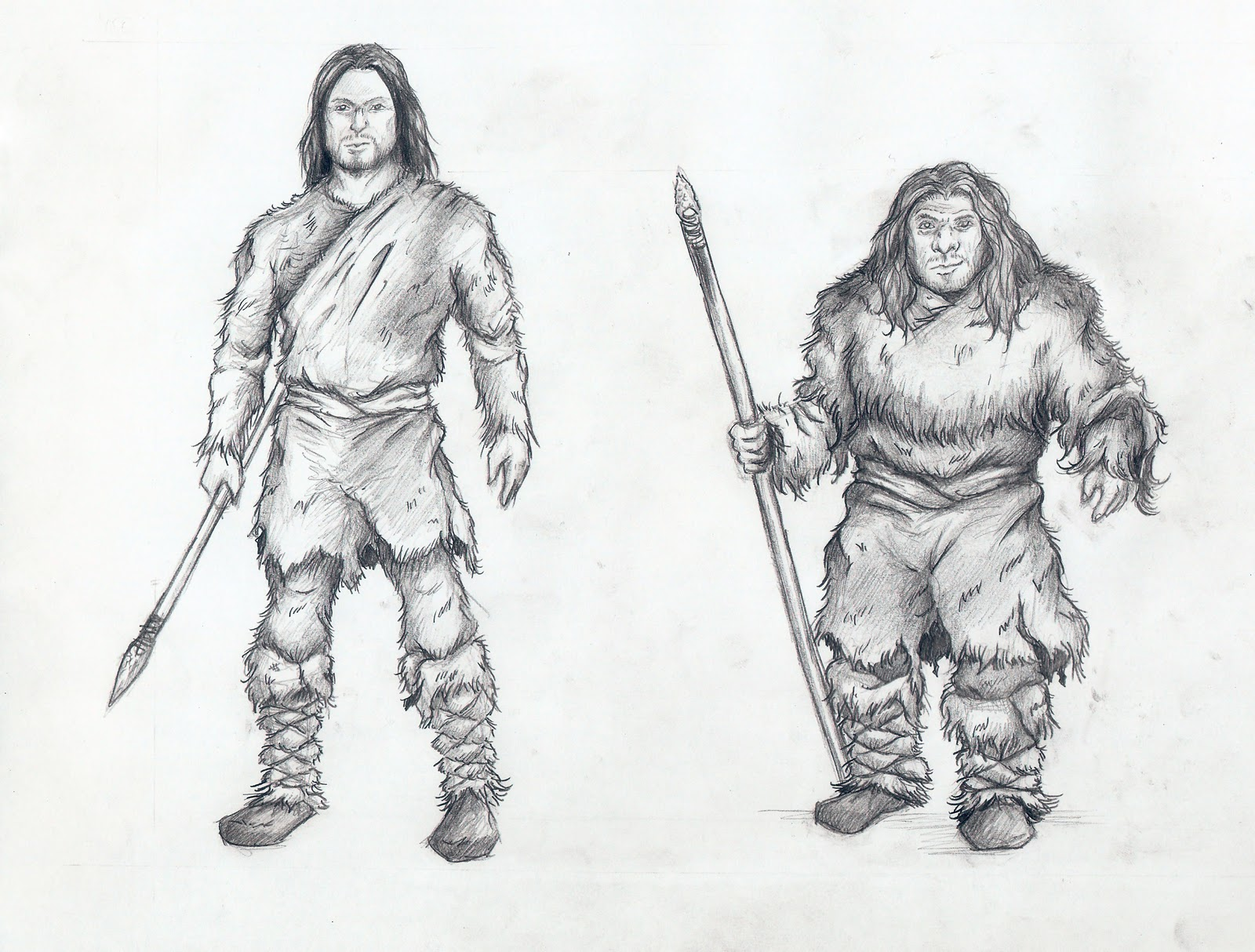 Mihin Rysunki Cro Magnon Amp Neandertalczyk