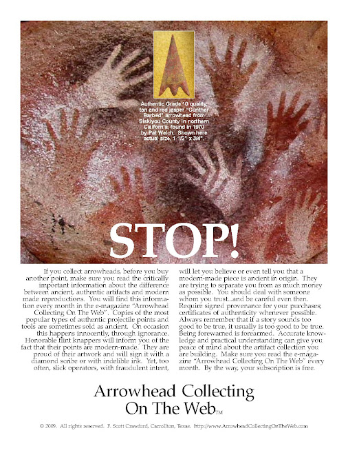 If You Collect Arrowheads ...