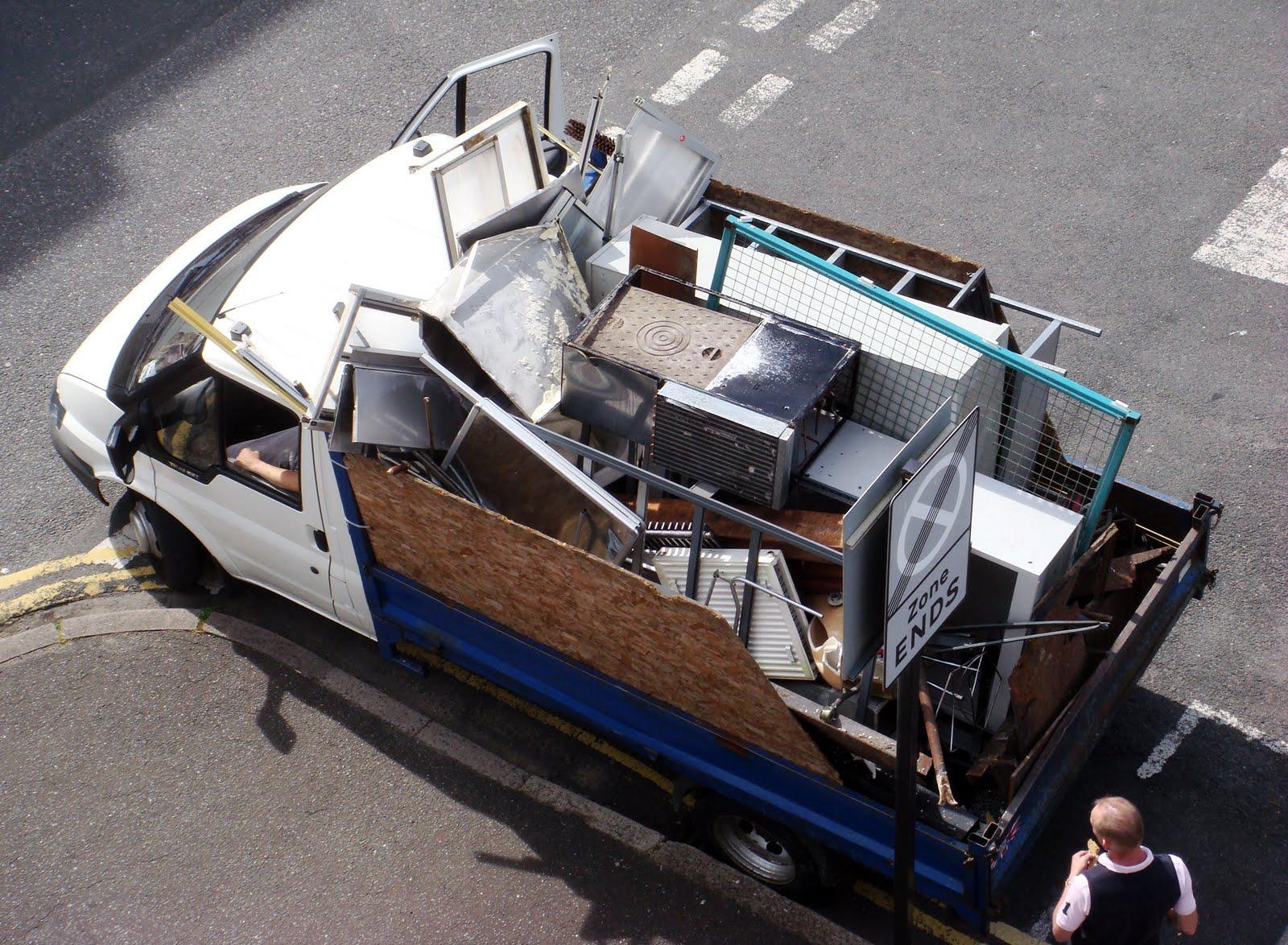 Hove Daily Photo: Scrap metal merchant