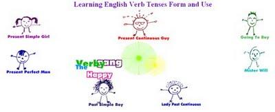 Resultado de imagen de the happy verby gang