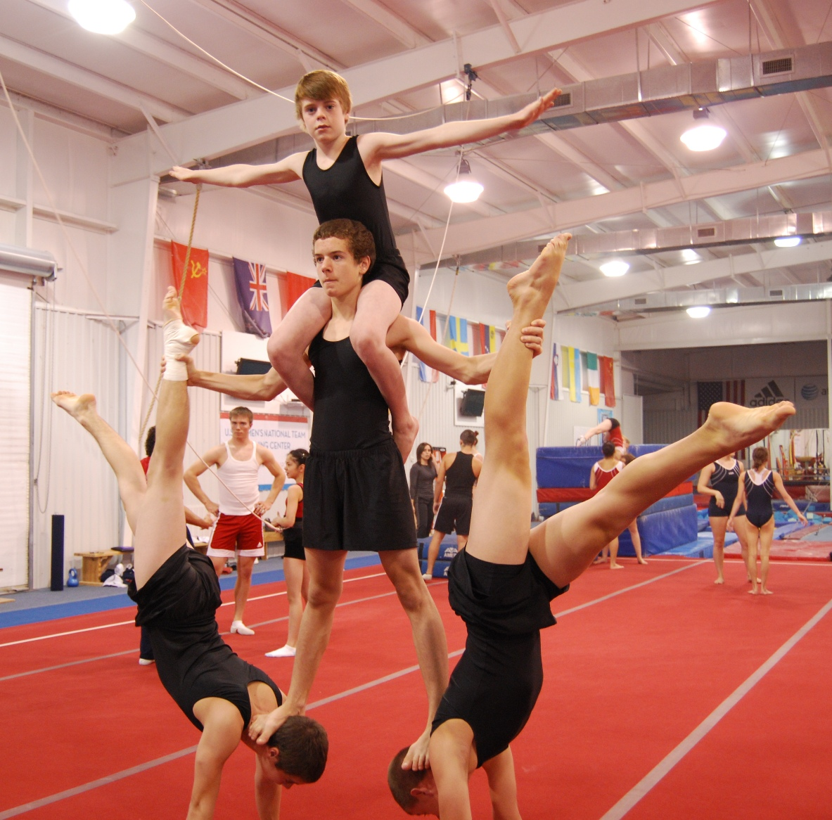 Oakville Gymnastics Club Acrobatic Gymnastics Team: OGC MG at