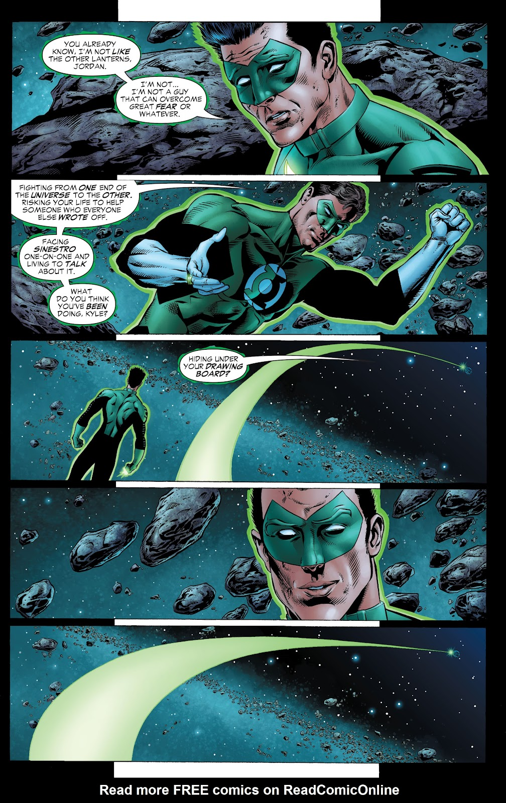 Read online Green Lantern by Geoff Johns comic -  Issue # TPB 1 (Part 2) - 29
