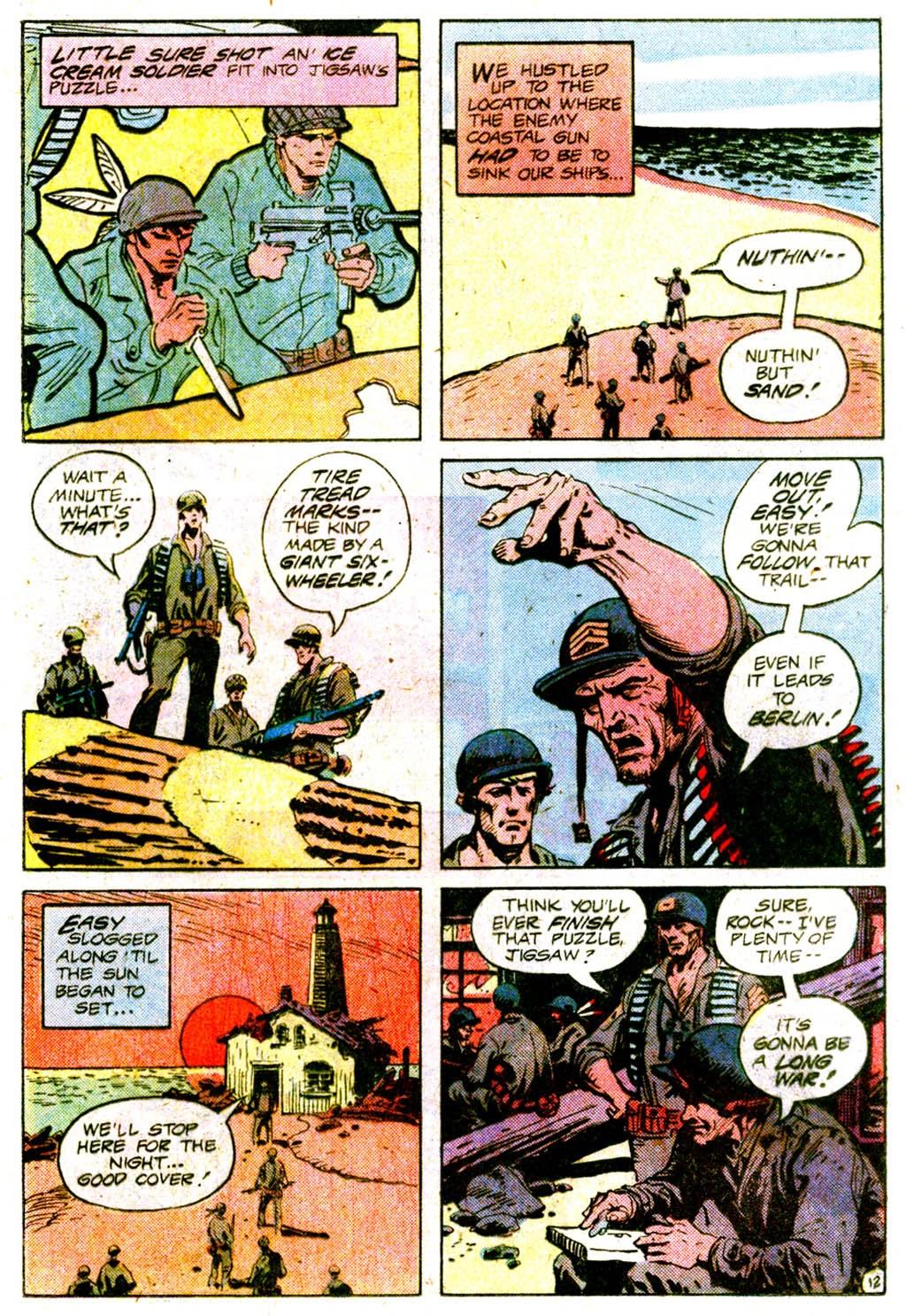 Read online Sgt. Rock comic -  Issue #365 - 16