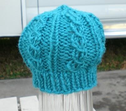 Knitting Up The Road Beanstalk Preemie Hat Pattern