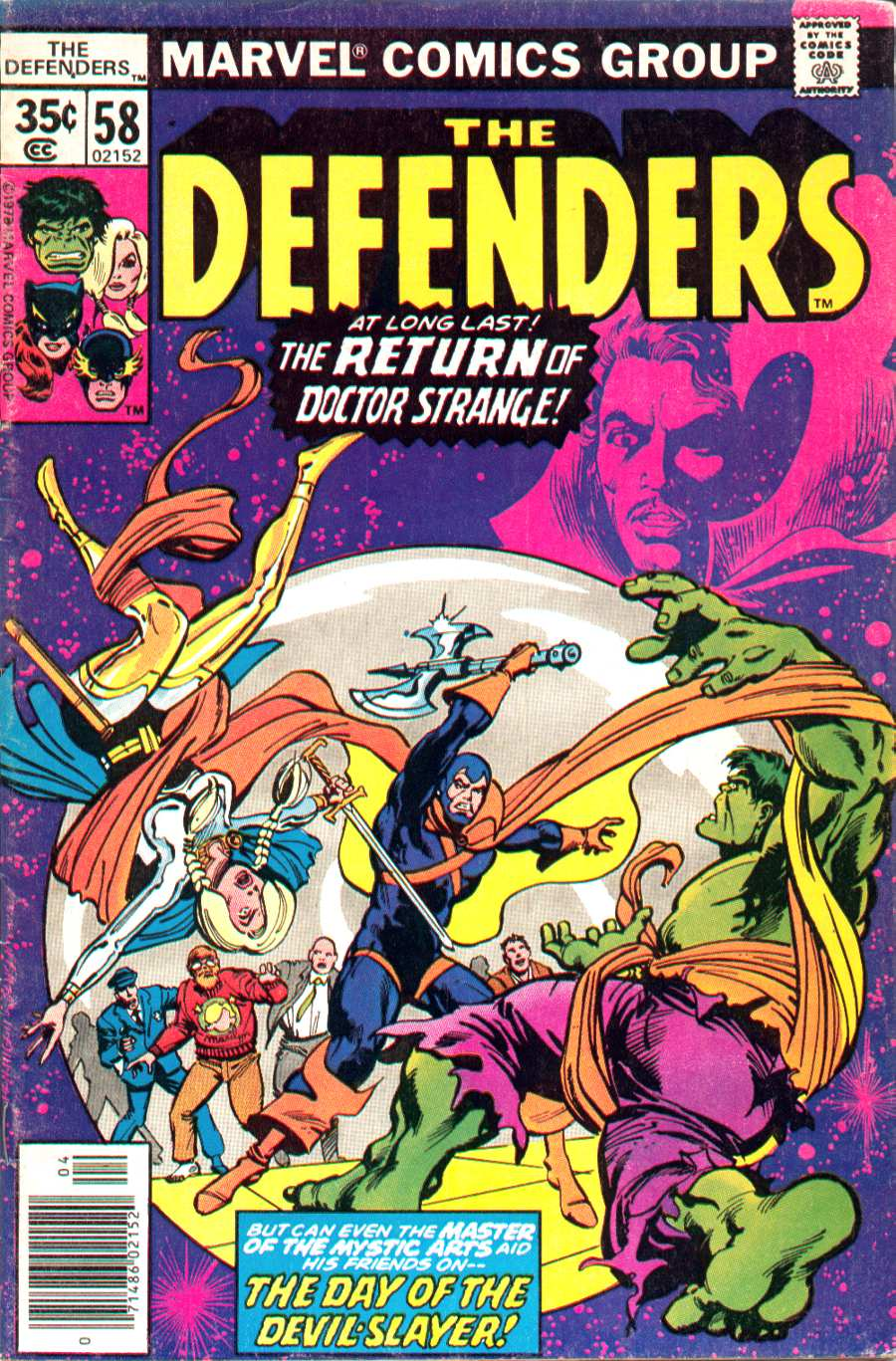 The Defenders (1972) 58 Page 1