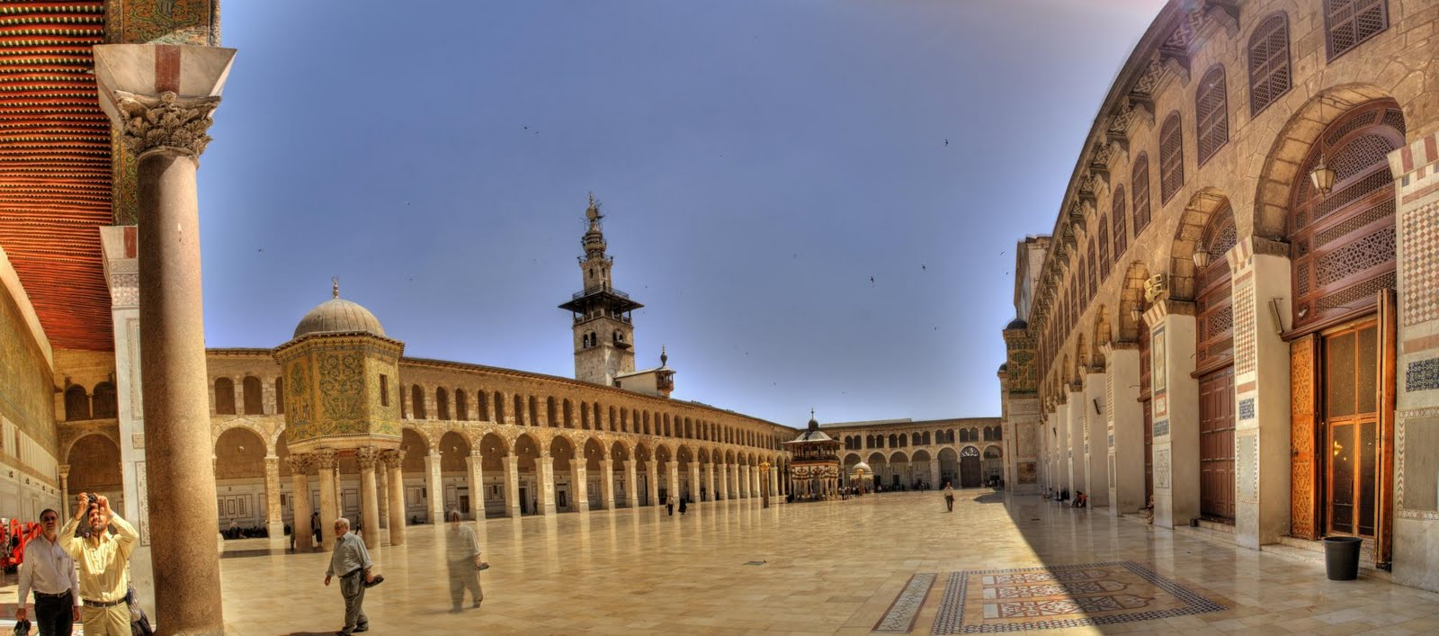 MY ARCHITECTURAL MOLESKINE®: THE GREAT MOSQUE OF DAMASCUS