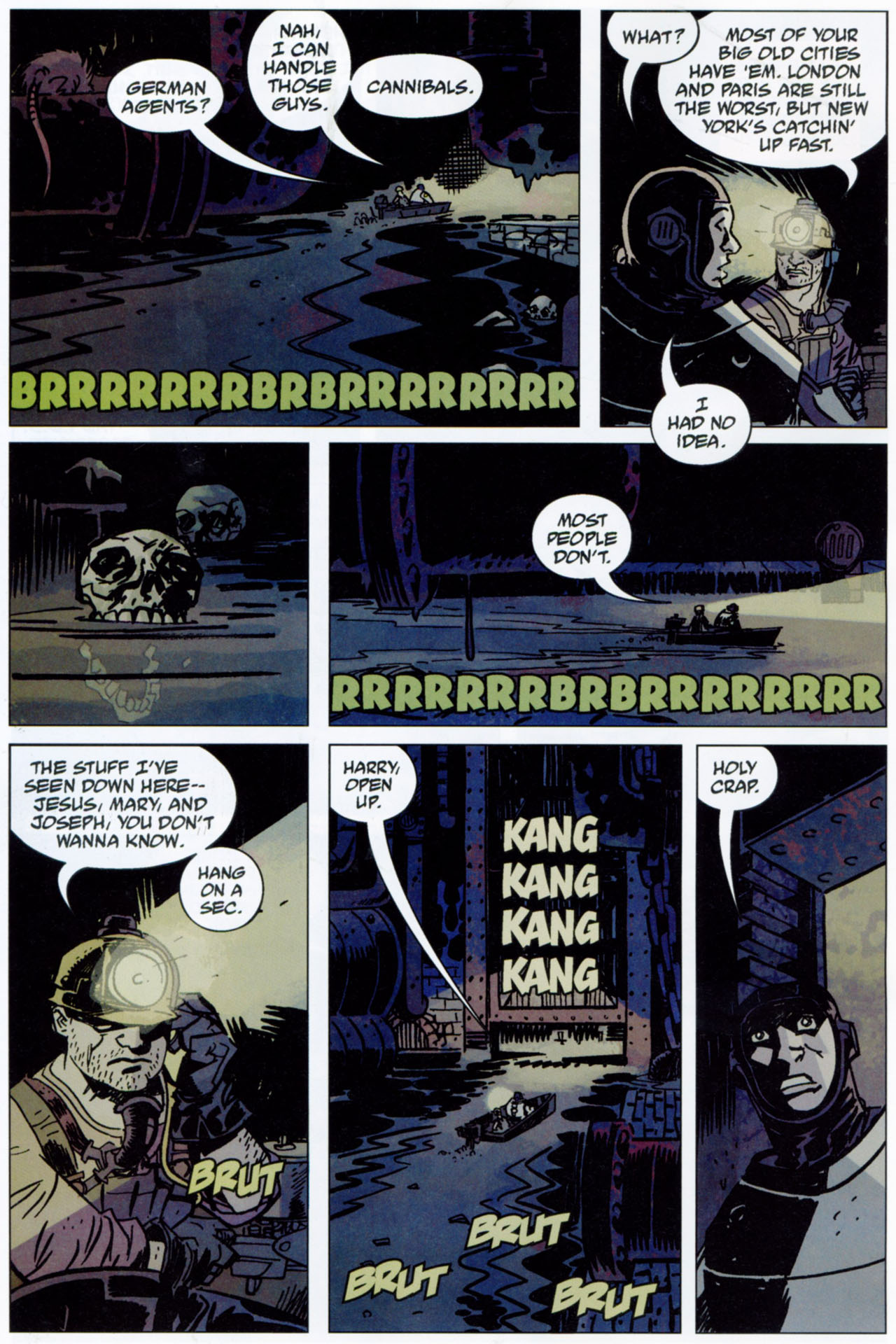 Read online Lobster Johnson: The Iron Prometheus comic -  Issue #1 - 18