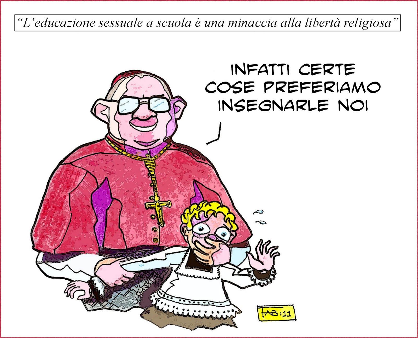 Dopo aver tuonato contro i preti pedofili ma senza aver espulso nessuno dopo aver pianto insieme alle vittime di pedofilia a Malta poi subito