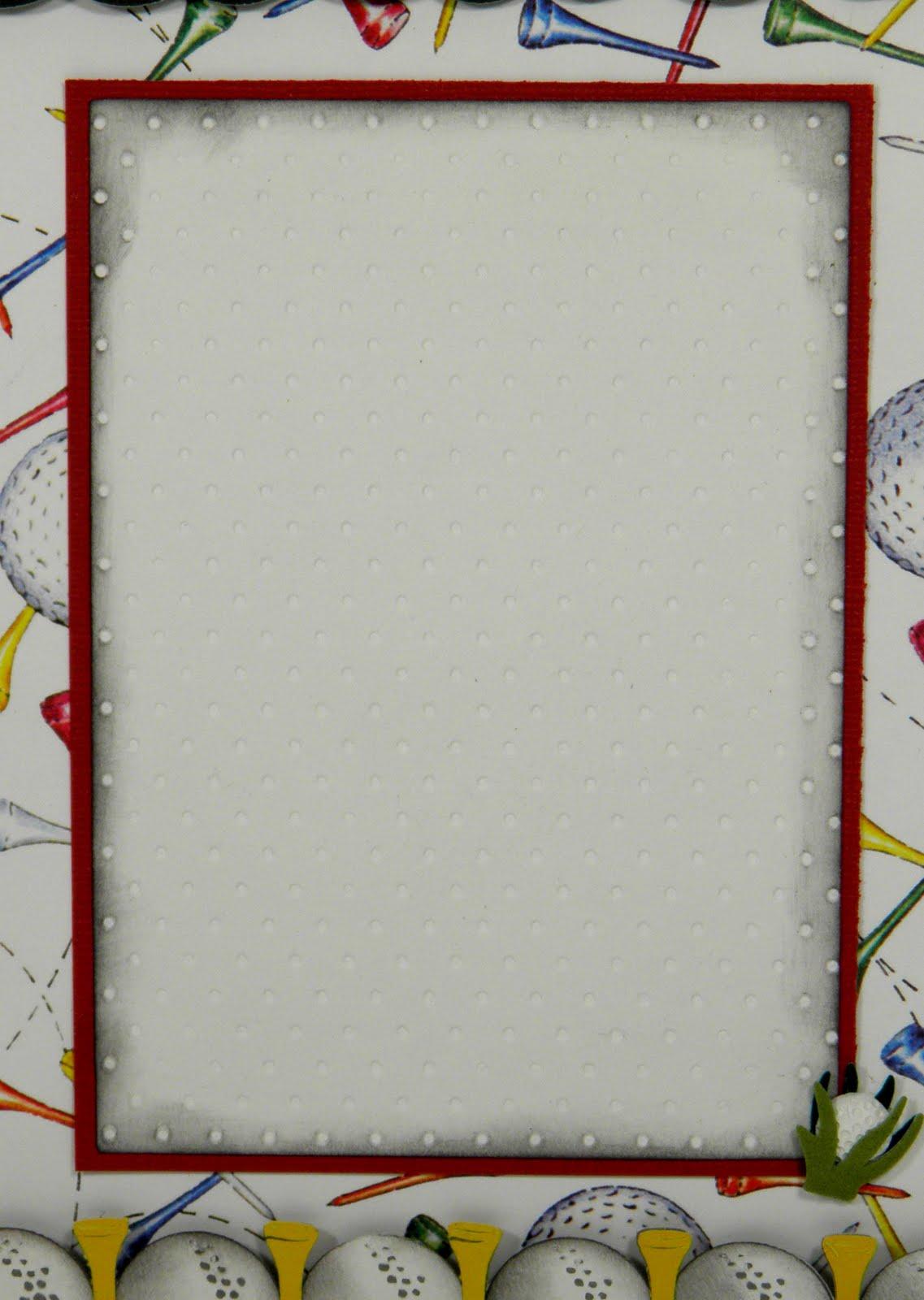 golf ball border clip art - photo #39