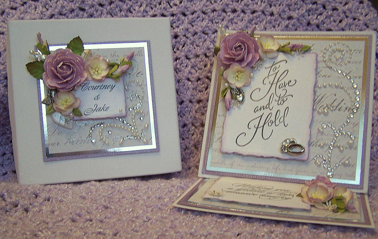 ScrappyLeggDesigns: Handmade Wedding Card