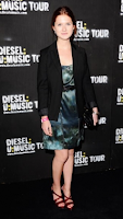 Bonnie Wright compareceu ao 'Diesel:U:Music World Tour', em Londres