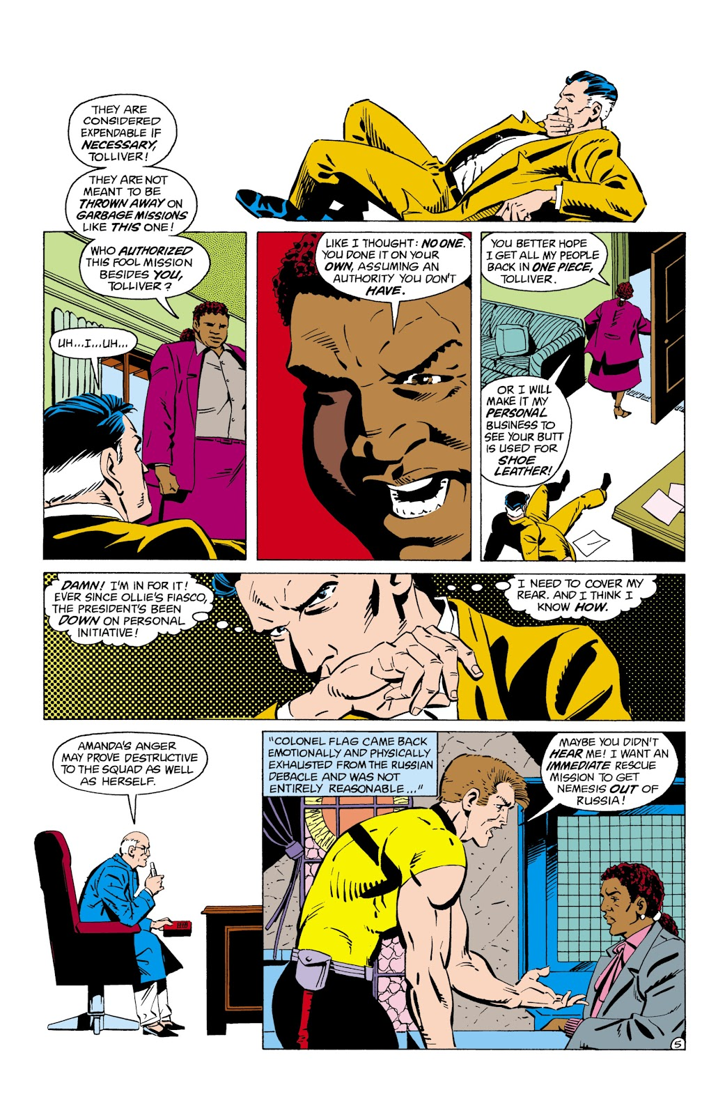 Suicide Squad (1987) Issue #8 #9 - English 6