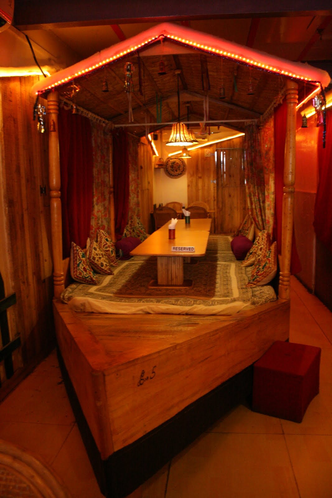 kitchen chef decor small design traveller stories: unusual restaurants in mumbai