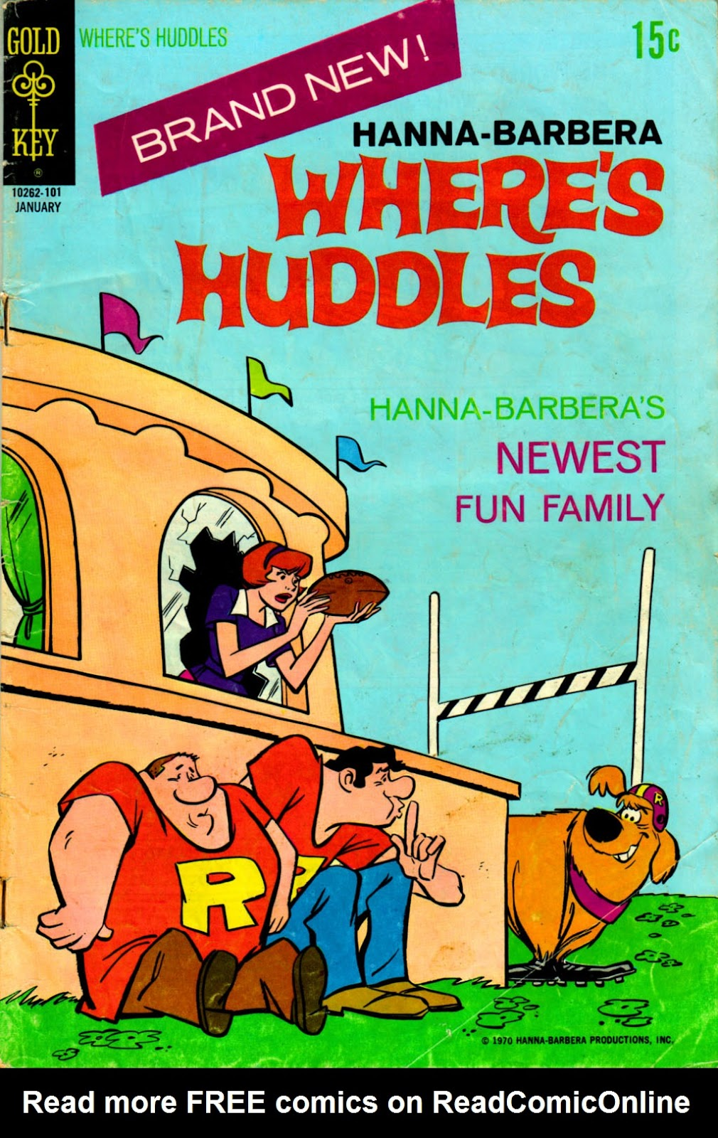 Where's Huddles issue 1 - Page 1