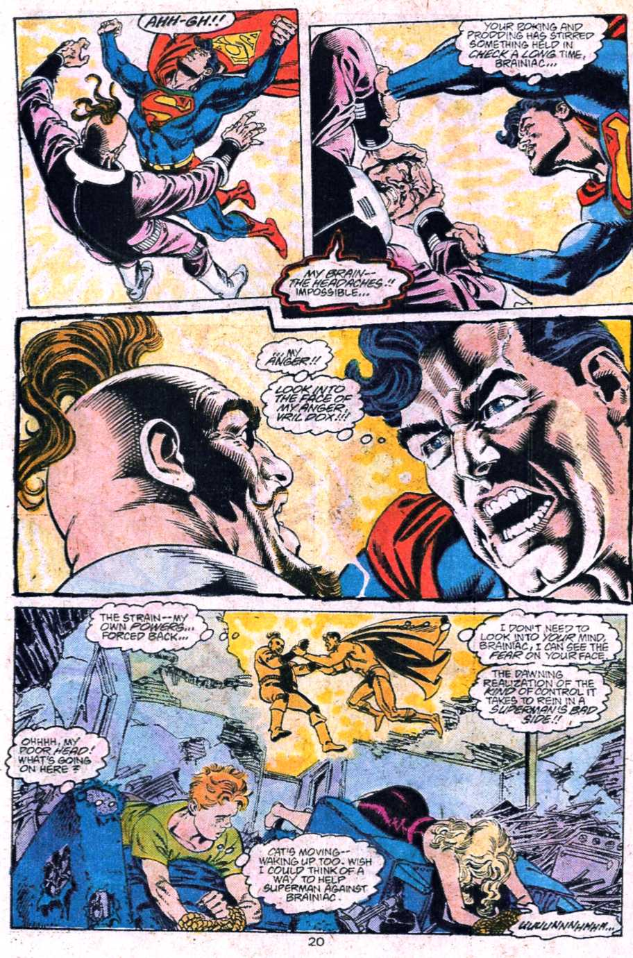 Read online Adventures of Superman (1987) comic -  Issue #445 - 21