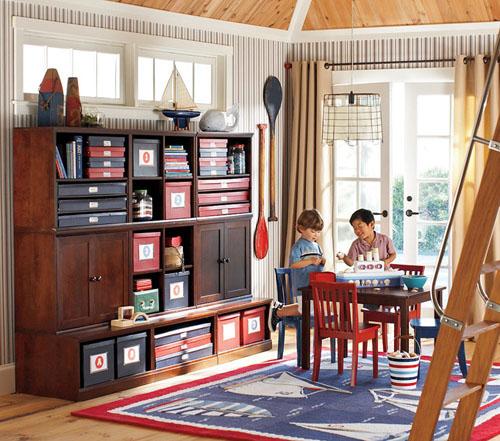 Pottery Barn Playroom: Love Of Family & Home