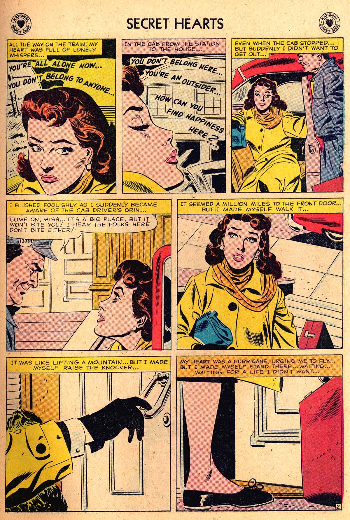 Read online Secret Hearts comic -  Issue #52 - 27