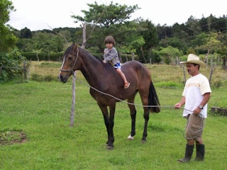 Horseback Riding in Costa Rica - Beautiful Stables in the Neighborhood